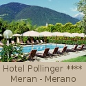 4 stars Hotel Pollinger in Merano in South Tyrol