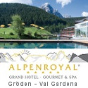 5 stars Alpenroyal Grand Hotel in Val Gardena